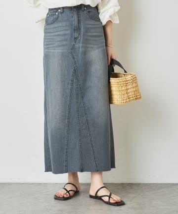 Omekashi(オメカシ) デニムリメイクロングスカート