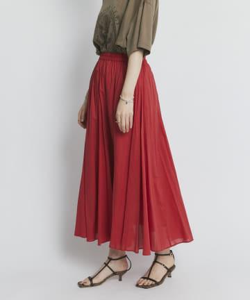 RIVE DROITE(リヴドロワ) 【華やかで女性らしい一枚】綿ローンマチフレアースカート