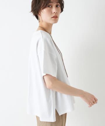 un dix cors(アンディコール) 【《色違いで揃えたくなる》手洗い可】USAコットンBIG Tシャツ