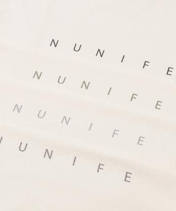 NICE CLAUP OUTLET(ナイスクラップ アウトレット) 【NUNIFE】NUNIFE ロゴロンT