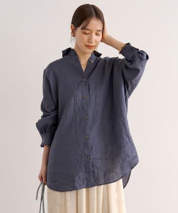 Loungedress(ラウンジドレス) ボタニカルダイシャツ