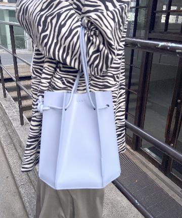 SHENERY(シーナリー) (YAHKI/ヤーキ)  ダブルフェイス巾着バッグ