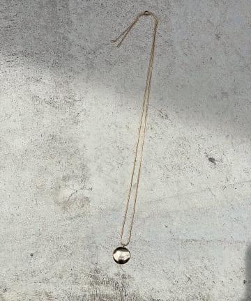 RIVE DROITE(リヴドロワ) 【シンプルながら存在感あるデザイン】サークルモチーフネックレス