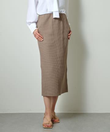 Whim Gazette(ウィム ガゼット) ワッフルタイトスカート