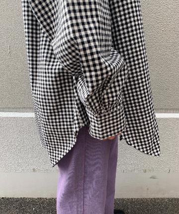 NICE CLAUP OUTLET(ナイスクラップ アウトレット) ギンガムチェックシャツ