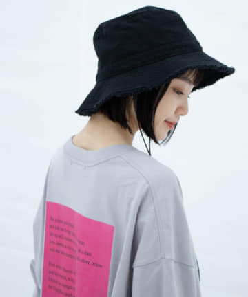 Kastane(カスタネ) Art Product Long Sleeve Tee