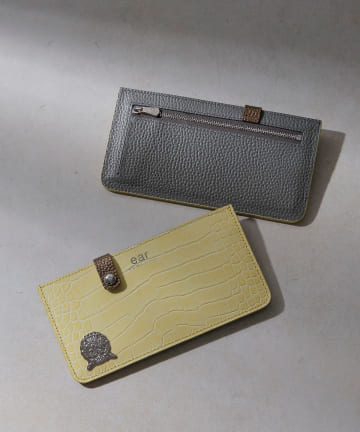 ear PAPILLONNER(イア パピヨネ) 【A.D.M.J(エーディエムジェー)】 FLAT財布3月限定カラー