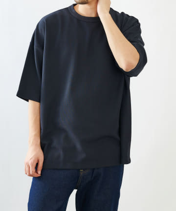 COLONY 2139(コロニー トゥーワンスリーナイン) ミニワッフルBIG半袖Tシャツ/ビッグシルエット半袖Tシャツ