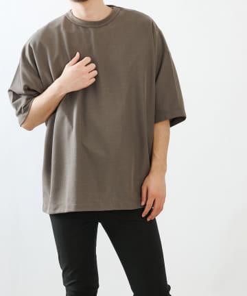 COLONY 2139(コロニー トゥーワンスリーナイン) ミニワッフルBIG半袖Tシャツ