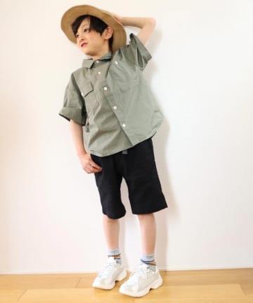 CIAOPANIC TYPY(チャオパニックティピー) 【KIDS】アソートファブリック シャツ
