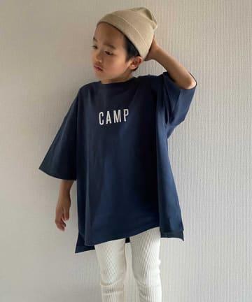 CIAOPANIC TYPY(チャオパニックティピー) 【KIDS】【USAコットン】 CAMPロゴ プリントTee