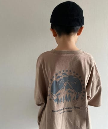 CIAOPANIC TYPY(チャオパニックティピー) 【KIDS】【USAコットン】 マウンテンプリントTee