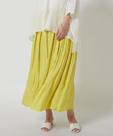 COLLAGE GALLARDAGALANTE(コラージュ ガリャルダガランテ) 【煌びやかに揺らぐ優雅なスカート】クチュールヴィンテージスカート