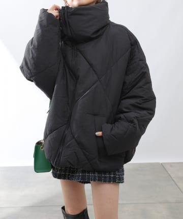 COLONY 2139(コロニー トゥーワンスリーナイン) BIGダイヤキルティング中綿ジャケット