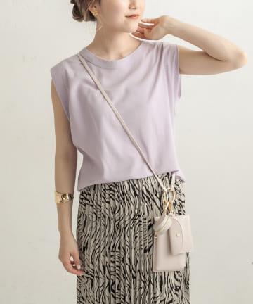 CAPRICIEUX LE'MAGE(カプリシュレマージュ) CAPフレンチBOX Tシャツ