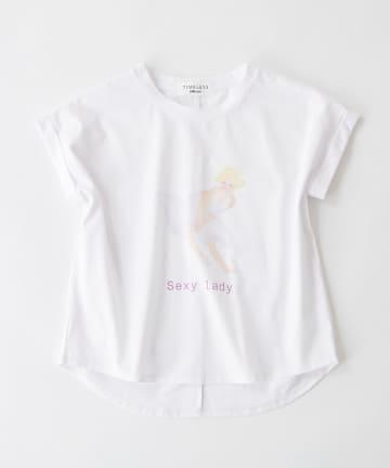 BONbazaar(ボンバザール) 《長谷川 有里's キャラクター》Tシャツ Sexy Lady