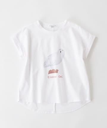 BONbazaar(ボンバザール) 《長谷川 有里's キャラクター》Tシャツ Clever Owl