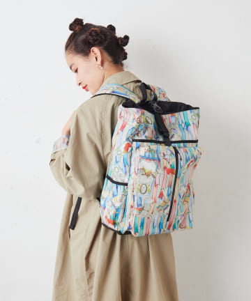 ear PAPILLONNER(イア パピヨネ) 【SWASH×BURLAP OUTFITTER×ear】  アニマル柄リュック