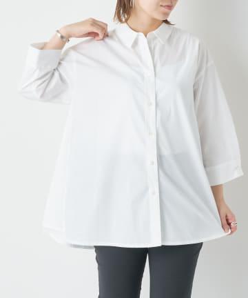 BONbazaar(ボンバザール) 《日本製》Aラインシャツ