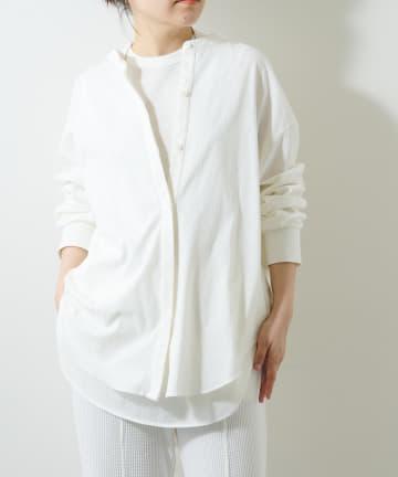 Whim Gazette(ウィム ガゼット) 《WEB限定》【THE PAUSE】テンジクシルバイオOVERシャツ