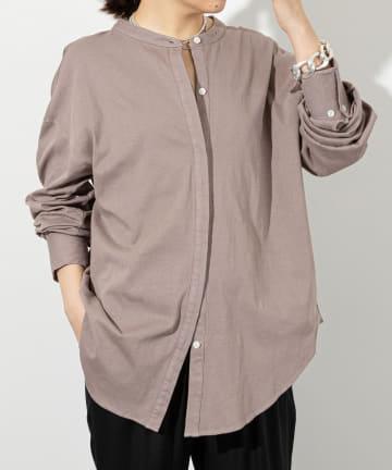 Whim Gazette(ウィム ガゼット) 【THE PAUSE】テンジクシルバイオOVERシャツ