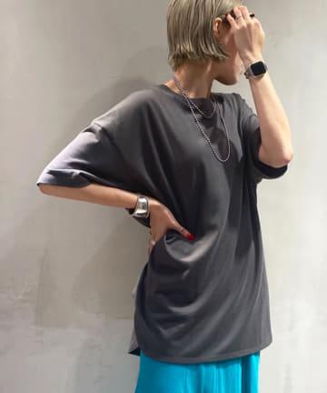 DOUDOU(ドゥドゥ) 5分袖ビッグT
