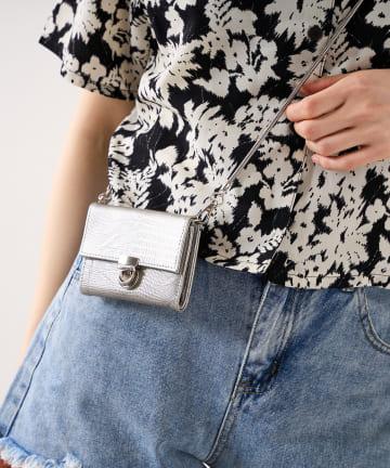 RASVOA(ラスボア) 【EDT】Shoulder wallet
