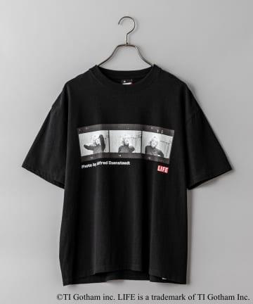 CIAOPANIC(チャオパニック) 【SCREEN STARS】LIFE アーティストフォトプリントTシャツ