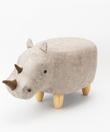 BIRTHDAY BAR(バースデイバー) アニマルモチーフのスツール サイ Rhino(リノ)
