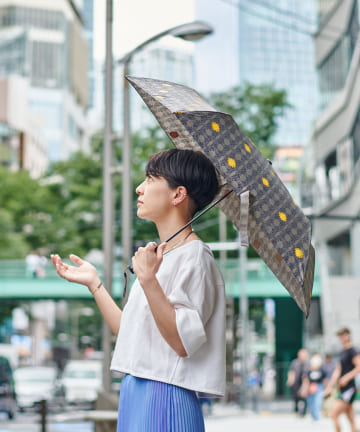 BIRTHDAY BAR(バースデイバー) SHIBUYA FONT 超軽量傘 / 折りたたみ傘