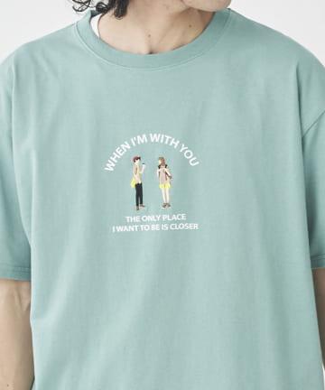CPCM(シーピーシーエム) 【ユニセックスでおすすめ】ヒト刺繍半袖T
