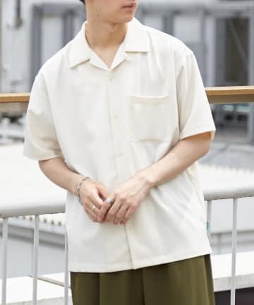 Discoat(ディスコート) 【@DRY/アットドライ】半袖オープンカラーシャツ