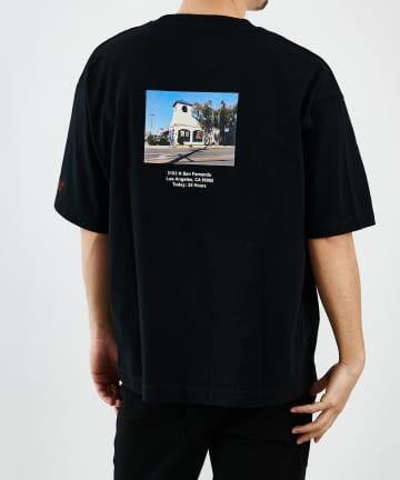 COLONY 2139(コロニー トゥーワンスリーナイン) アメリカンショップサインTシャツ