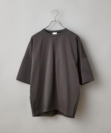 CIAOPANIC(チャオパニック) スーパーツイストバスク天竺ビッグシルエットTシャツ
