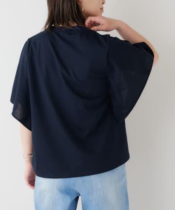 BONbazaar(ボンバザール) ドッキングフレアTシャツ