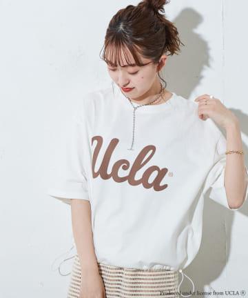 Discoat(ディスコート) UCLAコラボドロスト使いショートTシャツ