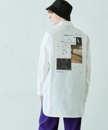 Lui's(ルイス) グラフィックプリントシャツ