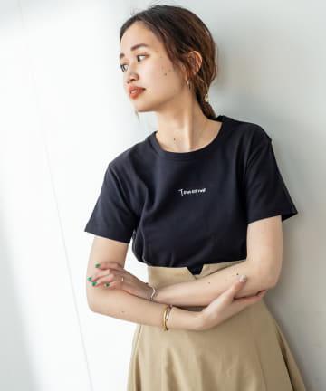 mystic(ミスティック) フロント刺繍Tシャツ