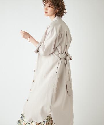 OUTLET premium(アウトレット プレミアム) 【《オーバーシャツ感覚で羽織れる》手洗い可】バイオオックスCPOコート
