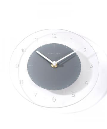3COINS(スリーコインズ) 【自然と暮らす】モダンガラス掛時計
