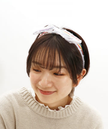 ASOKO(アソコ) レインボーワイヤーヘアバンド