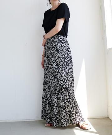 Discoat(ディスコート) 花柄マーメイドスカート