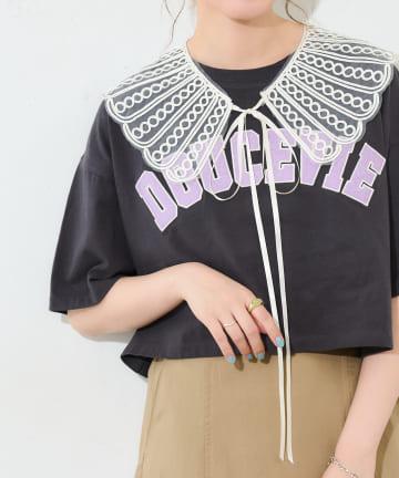 Discoat(ディスコート) 透かしレース付け襟