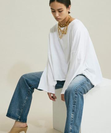 GALLARDAGALANTE(ガリャルダガランテ) ワイドロングTシャツ【オンラインストア限定商品】
