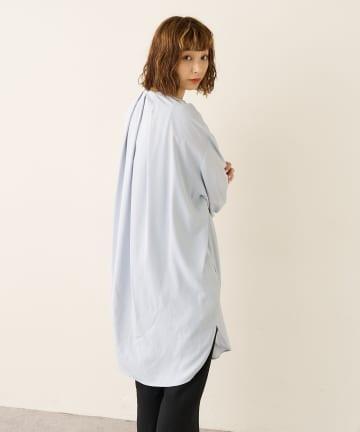 Lui's(ルイス) ボリュームスリーブオーバーシャツ