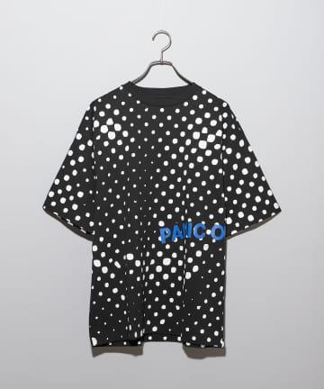 CIAOPANIC(チャオパニック) 【PICTURE THIS】PANIC OF GIRLS ドットプリントTシャツ