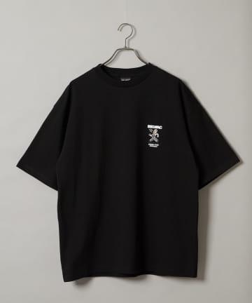 CIAOPANIC(チャオパニック) 【BIG MAC×FACE】別注オーバーオールマンプリントTシャツ