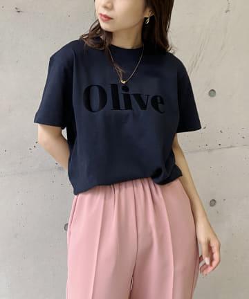 CAPRICIEUX LE'MAGE(カプリシュレマージュ) 〈新色追加/ネイビー〉Olive Tシャツ