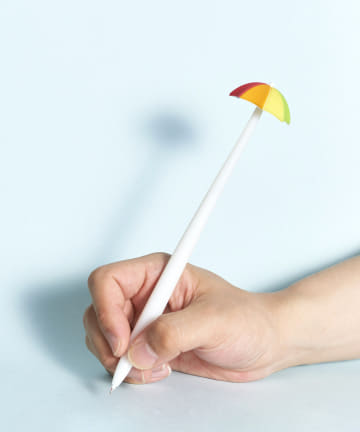 ASOKO(アソコ) ふにゃふにゃ虹傘ボールペン