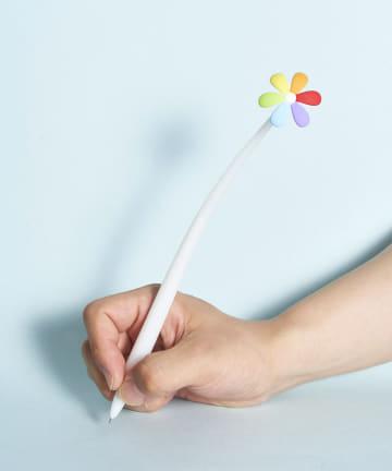 ASOKO(アソコ) ふにゃふにゃカラフル花ボールペン